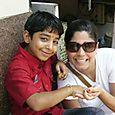 Con mi hijo indio